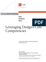 Conley - Leveraging Design's Core Competencies
