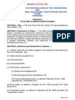 9. Banking Laws