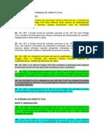 ENUNCIADOS DA I JORNADA DE DIREITO CIVIL