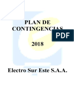 Plan de Contingencias ELSE 2018