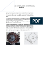 Materiales de Construccion de Una Turbina Pelton