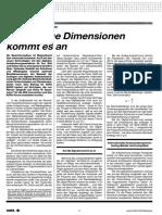 Andreas Merkel - Dimensionierung Von Analog- Und Digitalbändern