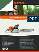 Manual Motosierra Stihl 660