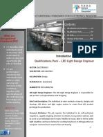 LED Light Design Engineer