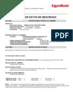 DELVAC 1300 SUPER 15W-40 (MSDS - ESPAÑOL).pdf