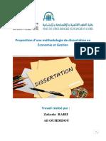 Proposition d'une Méthodologie de dissertation en Économie et Gestion Prépa des Masters.pdf