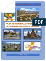 Plan de Desarrollo Concertado Carhuaz