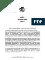 WPA3 Specification v1.0