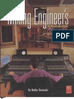 The Mixing Engineers Handbook