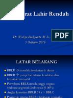 Tatalaksana BBLR RSUD Salatiga(1)