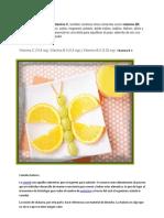 Vitaminas Del Pepino