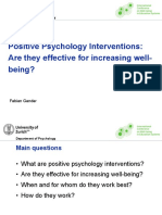 Gander - Positive Psychology Interventions