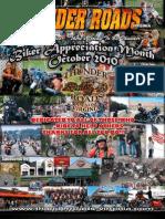 Thunder Roads Virginia Magazine - October 2010