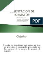 Presentación Formatos Monografias 2012