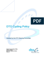 DTO Cycling Policy
