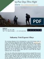 Salkantay Four Days Three Night