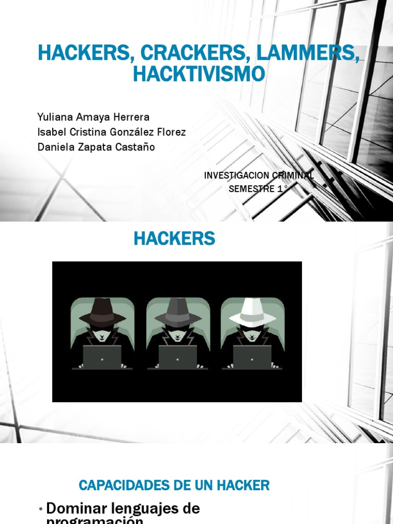 information about hackers and crackers