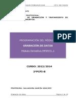 Programacion OperacionesDeGrabacionYTratamientoDeDatosYDocumentos 2013 14