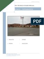 Informe Tecnico - Levantamiento Topografico - Set 2014