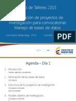 Formulacion de Proyectos de Investigacion Para Convocatorias 2015