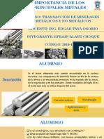 Presentación Importancia de Los Metales PDF