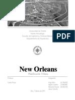 New Orleans. Planificacion Urbana