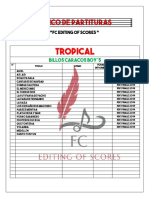 Banco de Partituras Fc Editing of Scores Full