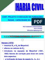 Aula 14-28-03-2016 Capacidade de Carga_ Mét Teór_Semi-Empí_Empíricos