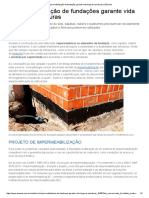 Impermeabilização de Fundações Garante Vida Longa Às Estruturas _ AECweb