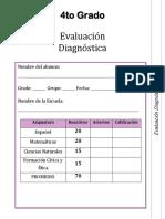 4to Grado - Diagnóstico(1)
