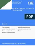 Apostila CID - Normas Da ABNT - Libre Office