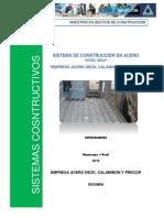SISTEMAS CONSTRUCTIVOS EN ACERO PERU
