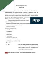 Praktikum Kimia Klinik i