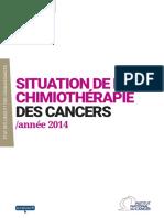 Situation de La Chimiotherapie Des Cancers Annee 2014_2015