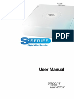 Manual Epcom Hikvision | Electromagnetic Interference