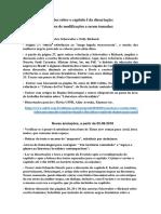 Capítulo I e Fundamentação Teórica Acrescentada