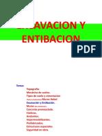 5.- Excavacion y Ademes