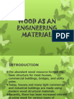 Wood as an Engineering Material