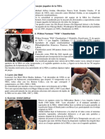Jugadores Famosos en Basquetbol