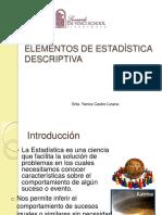 elementosdeestadisticadescriptiva-120911074210-phpapp02