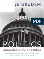 Politics - According to the Bible by Wayne Grudem, Excerpt