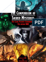 Compendium of Sacred Mysteries - Contest Edition v2.1