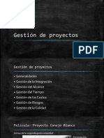 2. Gestión de Proyectos