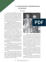 Como Surgiu a Agricultura Biodinamica No Brasil