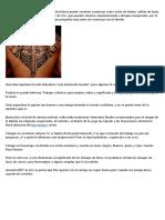 Detalles, Ficción y tatuajes hombres rosarios