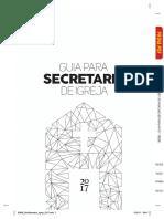 Guia Para Secretaria de Igreja Pt 2017