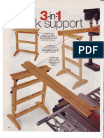 Height Adjustable Work Support