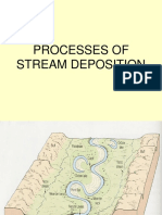 Geologi Dasar 10. 5 Pengendapan Sungai