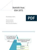 Statistik Asas Carta Pai