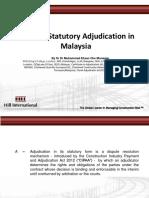 A to Z of Statutory Adjudication in Malaysia_17_December_2016